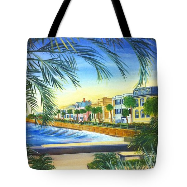 Charleston Battery Tote Bag