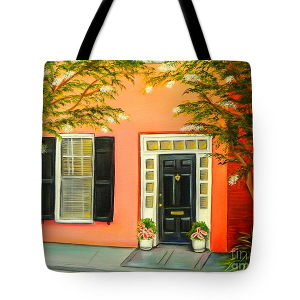 Charleston Charm Tote Bag