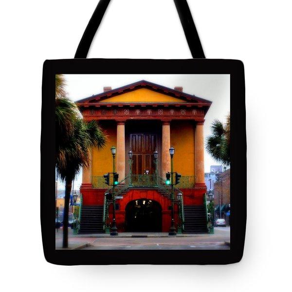 Charleston Tote Bag by Karen Wiles
