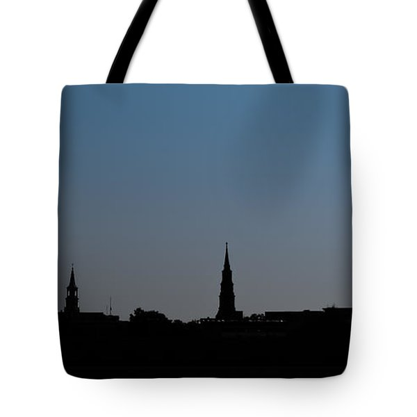 Charleston Silhouette Tote Bag
