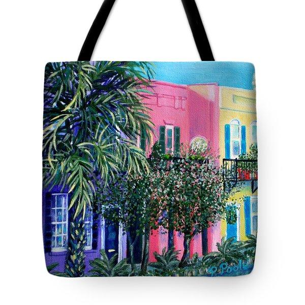 Charleston's Own Rainbow Tote Bag