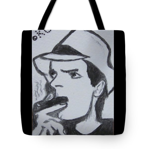 Charlie Sheen Tote Bag by Kathy Marrs Chandler