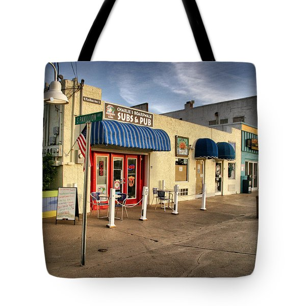Charlie's Boardwalk Tote Bag