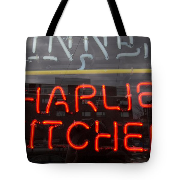 Charlies Kitchen Tote Bag