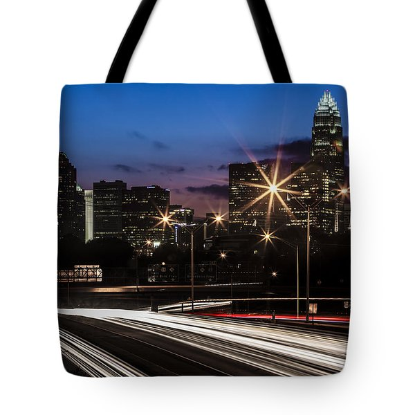 Charlotte Flow Tote Bag by Chris Austin