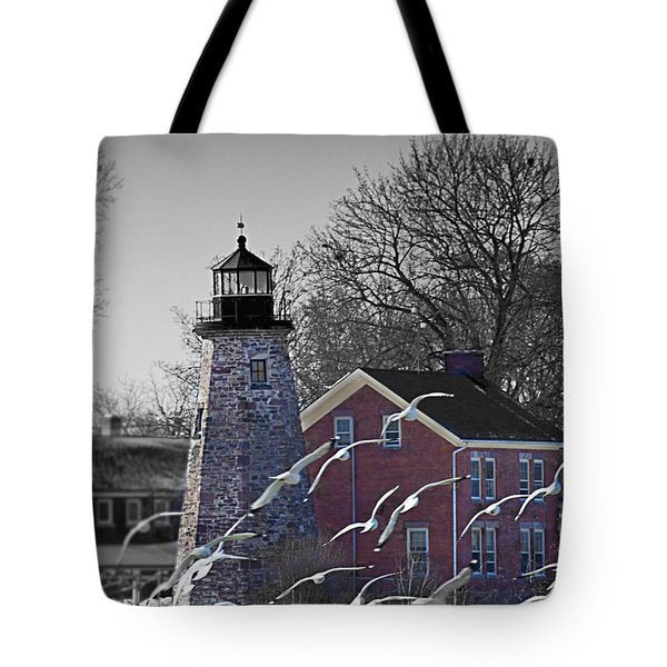 The Charlotte Genesee Lighthouse Tote Bag