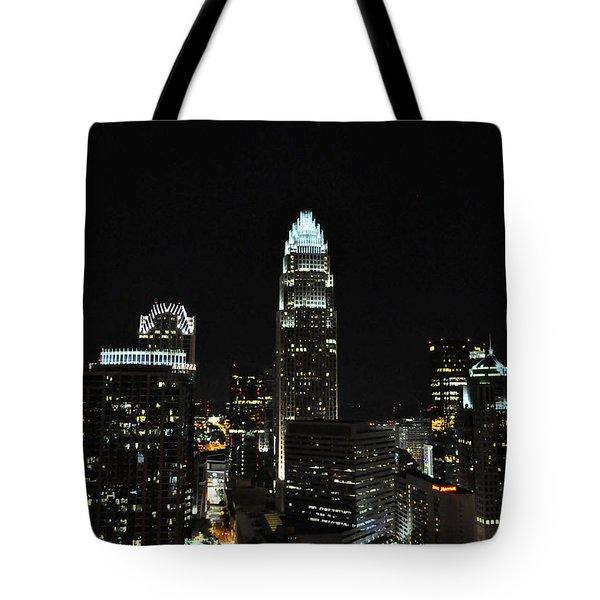 Charlotte Night Cnp Tote Bag by Jim Brage