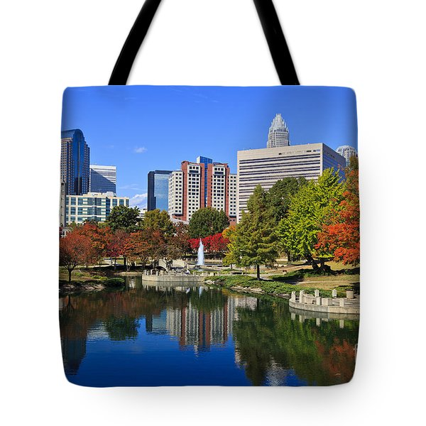 Charlotte North Carolina Marshall Park Tote Bag