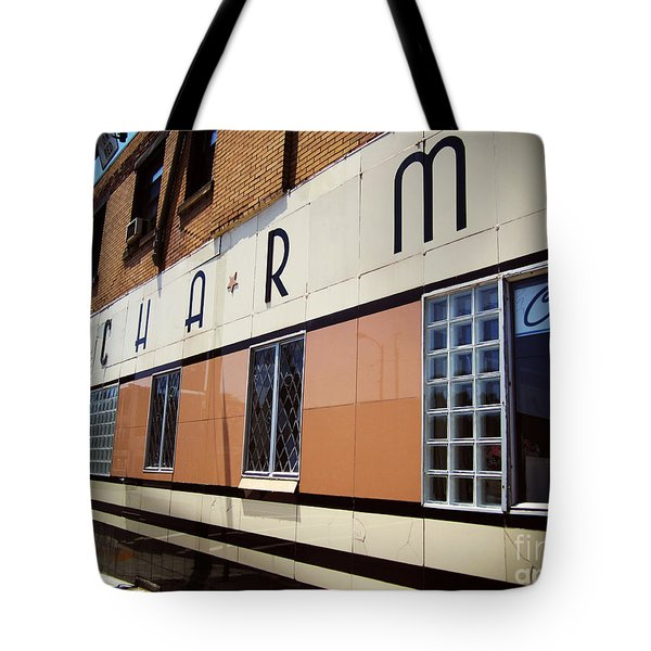 Charm Beauty Shop Pittsburgh Tote Bag