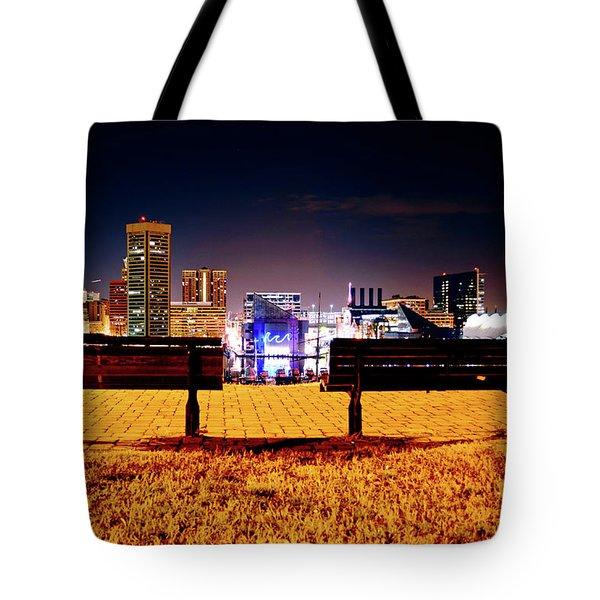 Charm City View Tote Bag