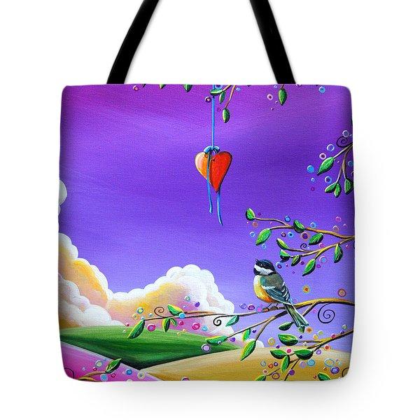 Cherish Tote Bag by Cindy Thornton