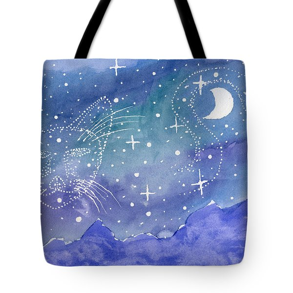 Charmed Night Tote Bag