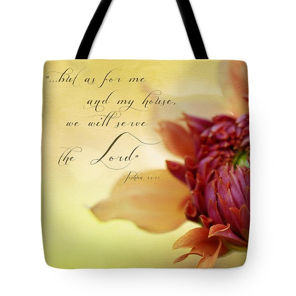 Charmed With Bible Verse Tote Bag