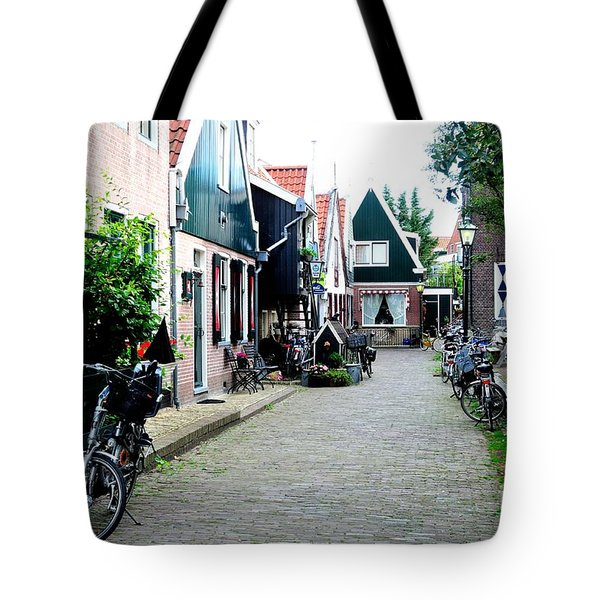 Tote Bag featuring the photograph Charming Dutch Village by Joe  Ng