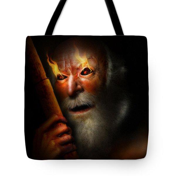 Charon - Caronte Tote Bag by Alessandro Della Pietra