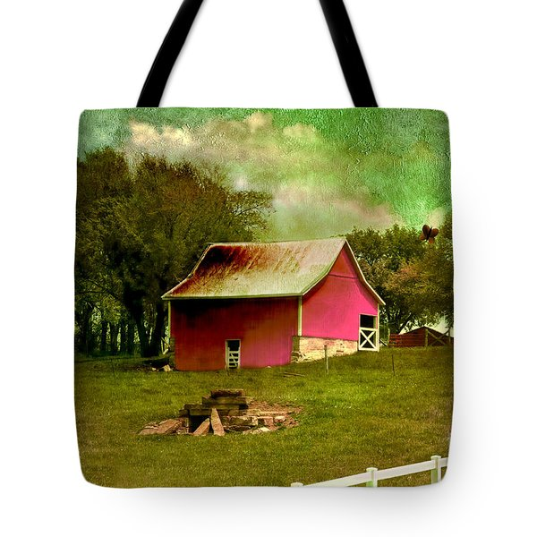 Tote Bag featuring the photograph Chartreuse Of Legend by Liane Wright
