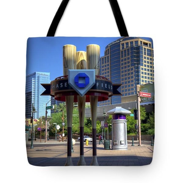 Chase Field Tote Bag