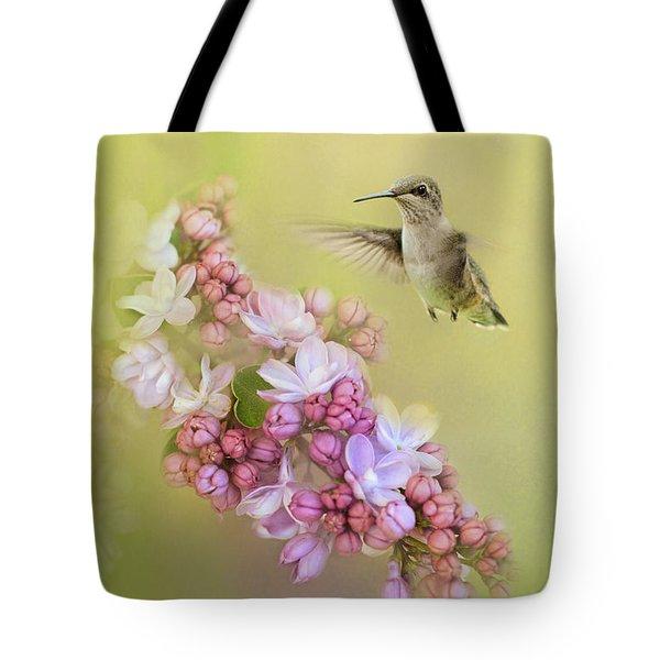 Chasing Lilacs Tote Bag