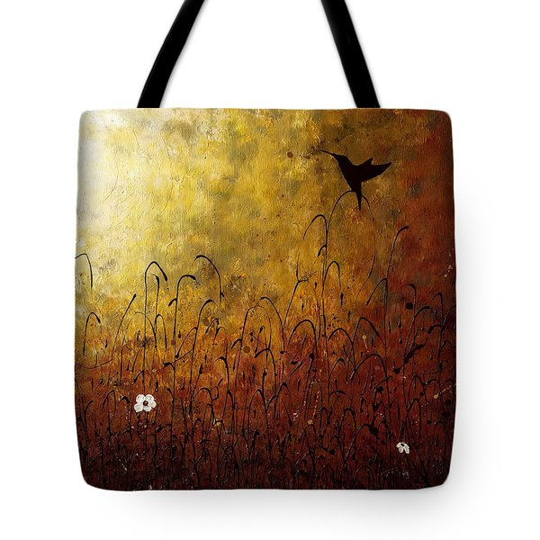 Chasing The Light Tote Bag by Carmen Guedez