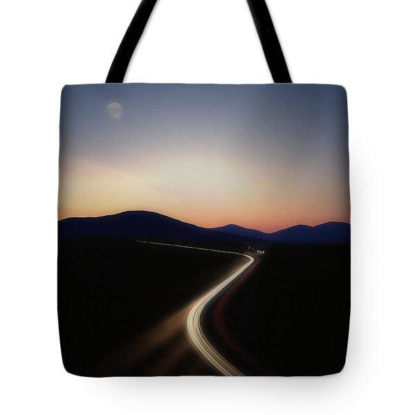 Chasing The Light Tote Bag