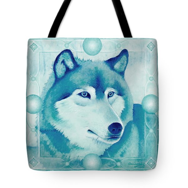 Chasing Wolf Tote Bag