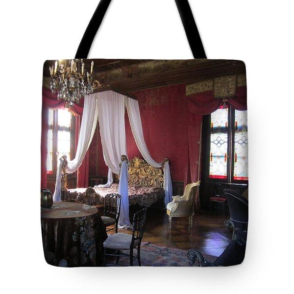 Chateau De Cormatin Tote Bag