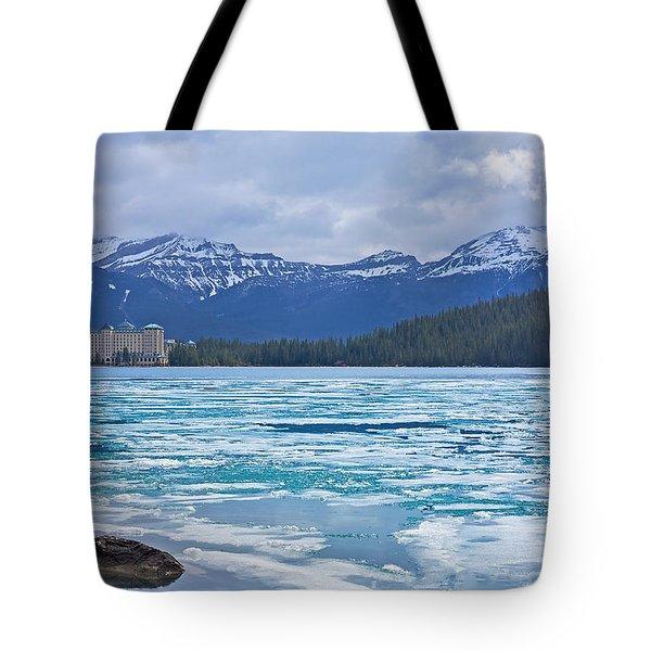 Chateau Lake Louise #2 Tote Bag
