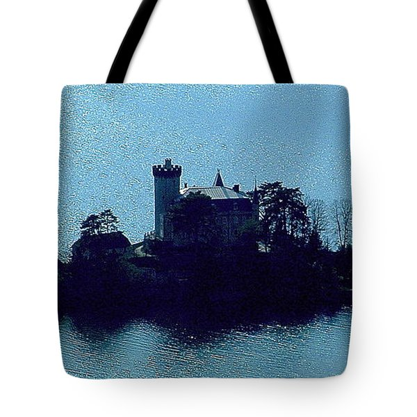 Chateau Sur Lac Tote Bag by Marc Philippe Joly