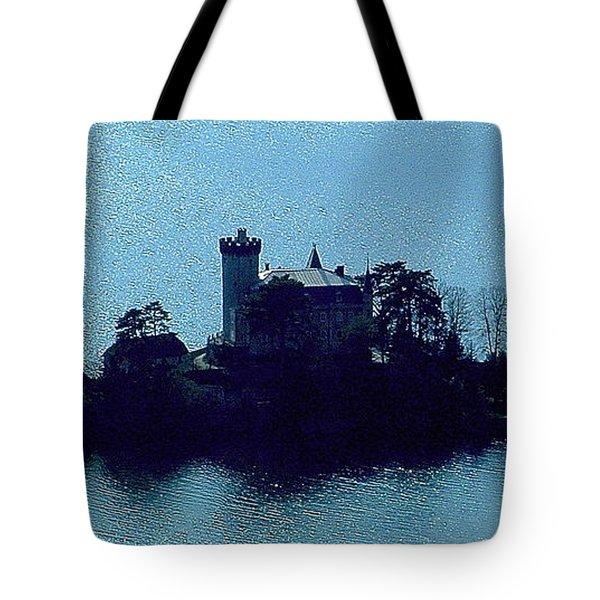 Chateau Sur Lac Tote Bag