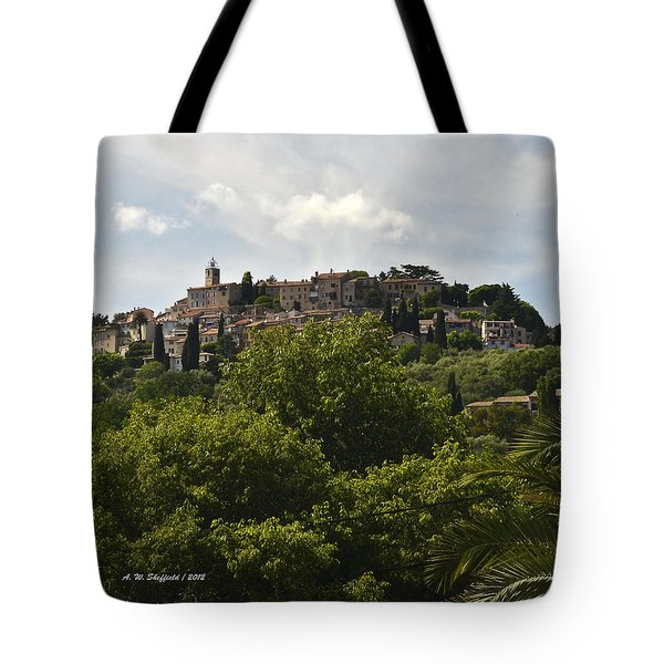 Chateauneuf Du Grasse Tote Bag by Allen Sheffield