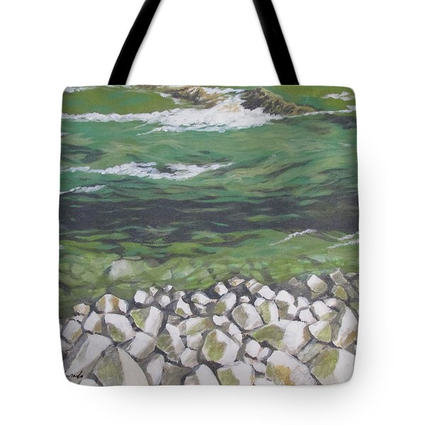 Chattahoochee Riverbank Tote Bag
