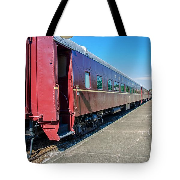 Tote Bag featuring the photograph Chattanooga Choo Choo 1 by Susan  McMenamin