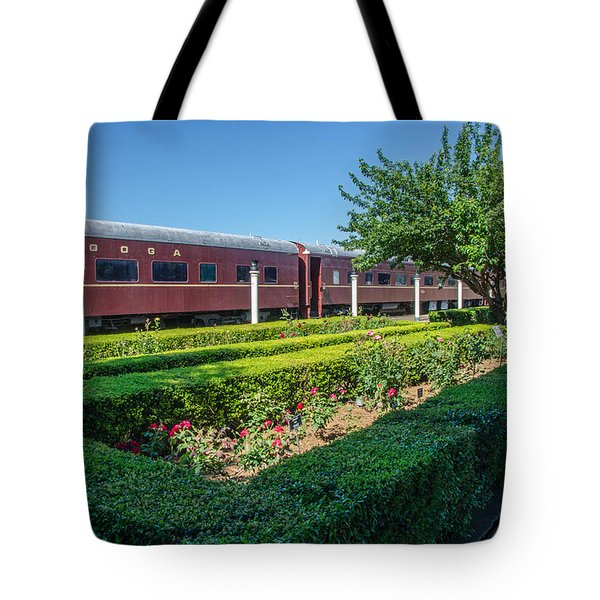 Tote Bag featuring the photograph Chattanooga Choo Choo 2 by Susan  McMenamin
