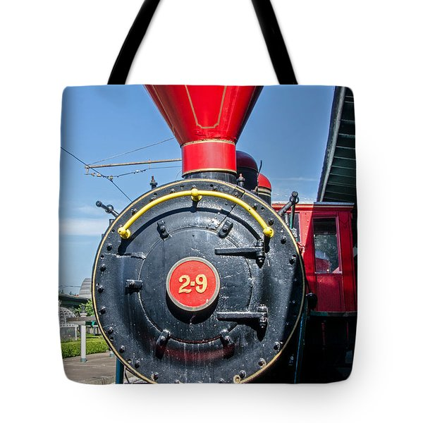 Chattanooga Choo Choo Steam Engine Tote Bag