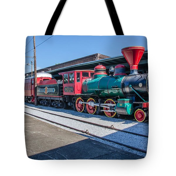 Tote Bag featuring the photograph Chattanooga Choo Choo by Susan  McMenamin