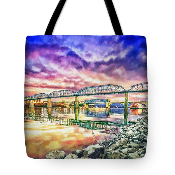 Chattanooga Reflection 1 Tote Bag