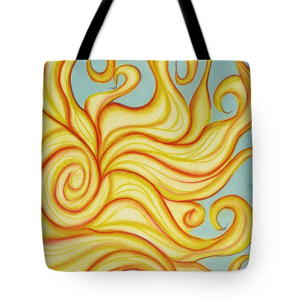 Chatting Sun Tote Bag