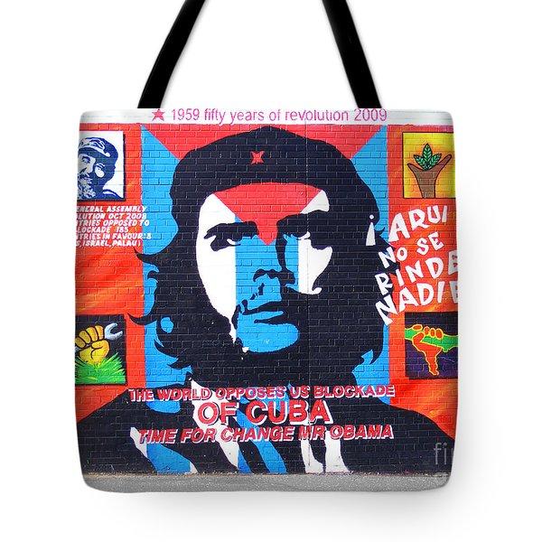 Che Guevara Tote Bag by Nina Ficur Feenan