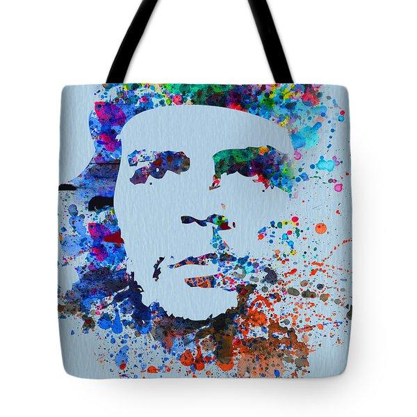 Che Guevara Watercolor Tote Bag by Naxart Studio