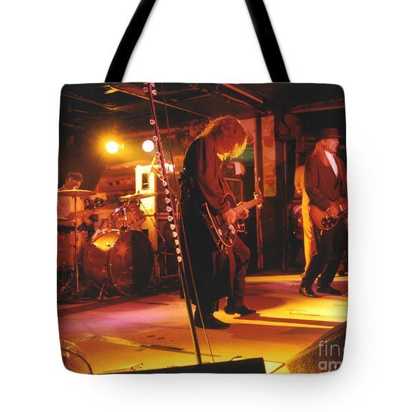 Cheap Trick-93-stage Tote Bag by Gary Gingrich Galleries