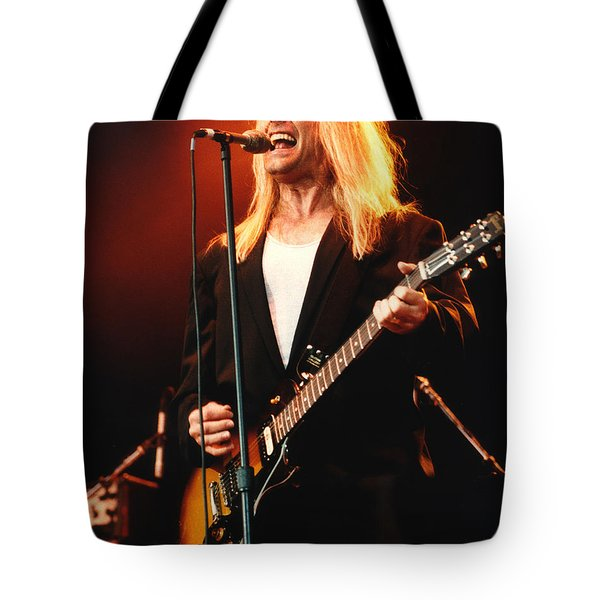 Cheap Trick-95-robin-2 Tote Bag by Gary Gingrich Galleries
