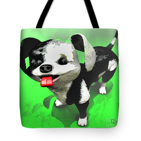 Tote Bag featuring the painting Checkmate by Dave Luebbert