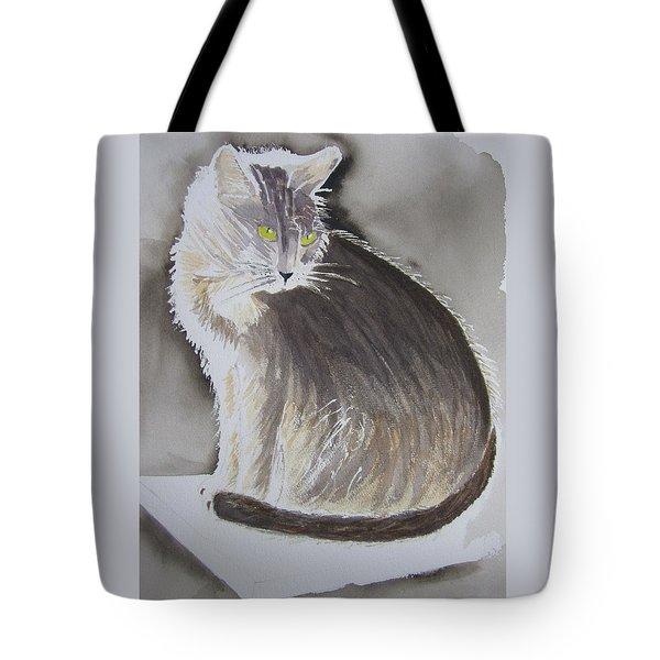 Cheeky Cat  Tote Bag