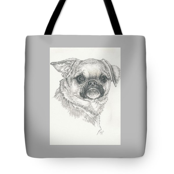 Cheeky Cheeks Tote Bag by Barbara Keith