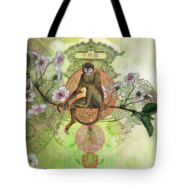 Cheeky Monkey Tote Bag by Aimee Stewart