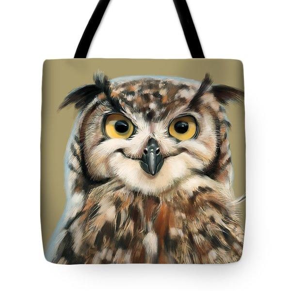 Cheeky Owl Tote Bag
