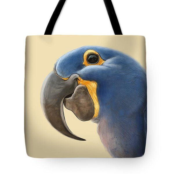Cheeky Parrot Tote Bag