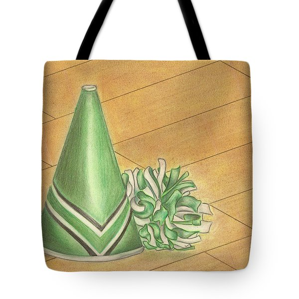 Cheer Tote Bag by Troy Levesque