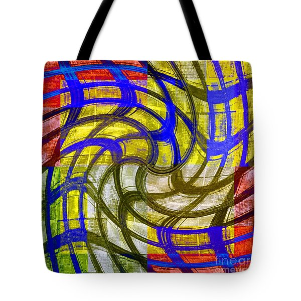 Cheerful Confusion Tote Bag by Darla Wood
