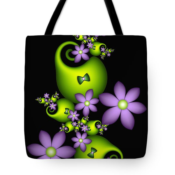 Tote Bag featuring the digital art Cheerful by Gabiw Art